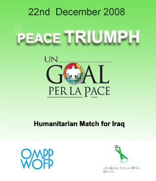 A goal for peace